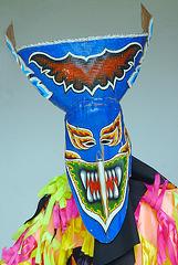 Mask for Pee Ta Khon Ghost festival