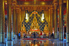 Buddha altar in Wat Neiramit Vipassana