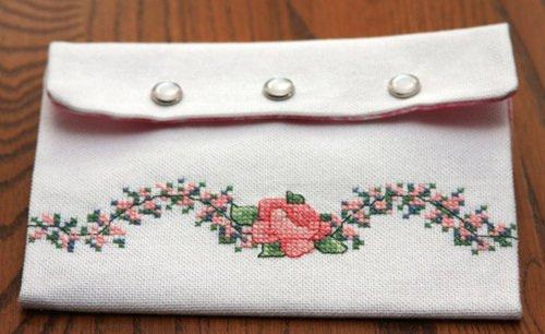 Roses Mailart (Back) 7/24/09