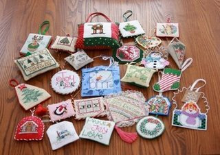 Stitched Ornament Collection