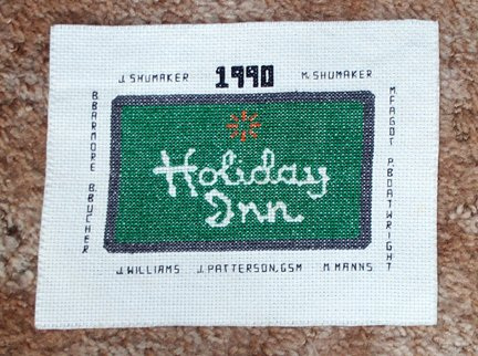 Holiday Inn Sampler - 1990