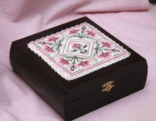 Pink Carnations Box 11/8/08
