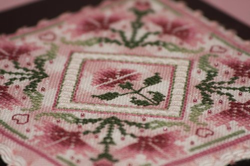 Pink Carnations Box (close up) 11/8/08
