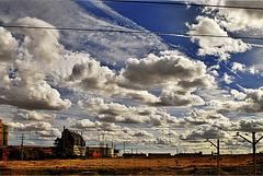 El ferrocarril en el Oeste americano....?