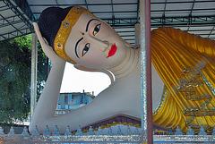 Reclining Buddha in Wat Thai Watthanaram