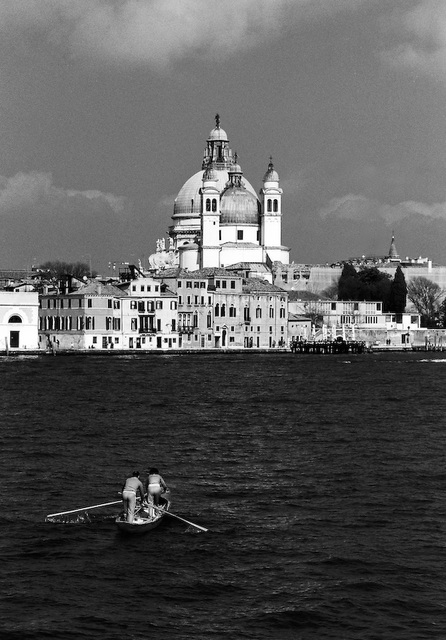 It is a long way to work (Venice in monochrome 1)