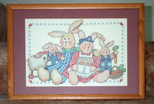 Farmer Rabbits Family