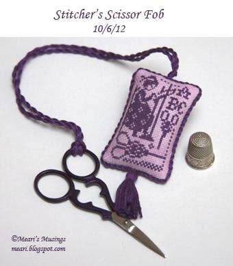 Stitchers Fob (front) 10/6/12