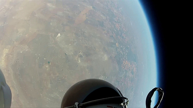GoPro Hero shot from Mission To The Edge of Space (5)