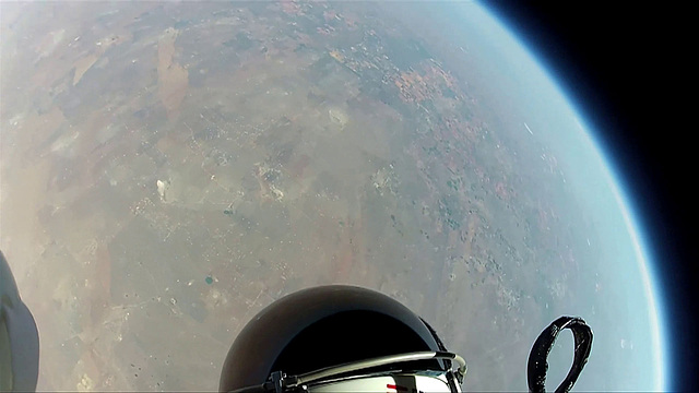 GoPro Hero shot from Mission To The Edge of Space (6)