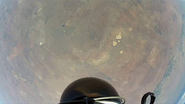 GoPro Hero shot from Mission To The Edge of Space (10)
