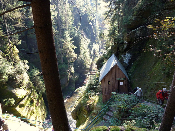 Hinterhermsdorf - Wanderung zur Oberen Schleuse