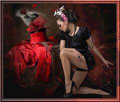 Grâce et séduction : Le rouge et le noir