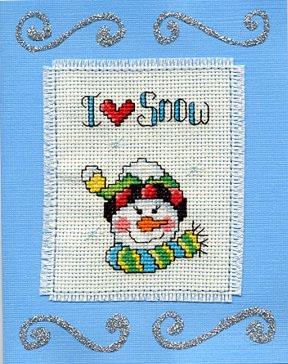 I Love Snow Card 10/23/05