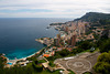 view of Monaco from above