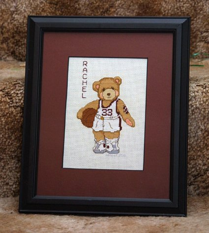 Cherished Teddies Basketball Player 1/5/06