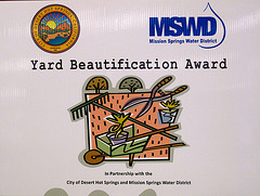 Yard Beautification Sign (3250)