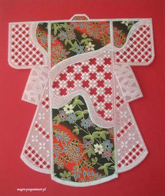kimonko - pergamin i papier japoński