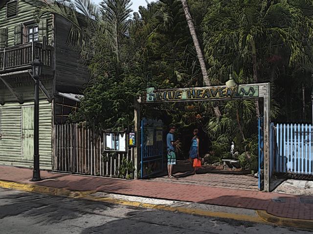 Blue Heaven - Key West, Florida