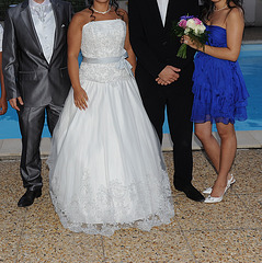 Mariage T & J  et talons hauts / High heels & T & J wedding party / Recadrage
