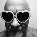 Pink Heart Sunglasses (1208A)