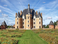 P9229451ac Rear Side of  Martainville Château Under Great Skies 1445-1485