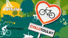 Biciklovagoj tra Břeclav