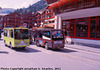Electric Taxis, Picture 1, Cropped Version, Zermatt, Visp District, Switzerland, 2011