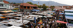 market in Macedonia