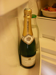 A BOTTLE OF CHAMPAGNE FOR THE PRESIDENT SECOND TERM