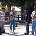 George Fisher & Mayor Parks Recognizing Fred Vasquez & Eddie Johnson (1183)
