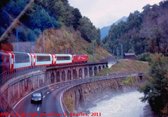 View from the Glacier Express, Picture 4, Unknown location, Visp District, Switzerland, 2011