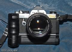 MX, winder and SMC 50mm f/1.2