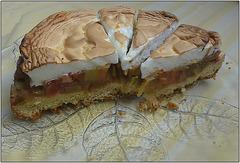 Rhabarberkuchen /rhubarb cake
