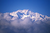 Kanchenjunga Rises from the Clouds