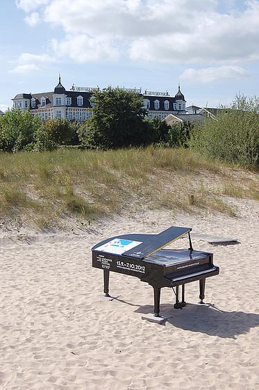 hotelo, duno, piano, plaĝo,