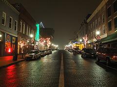 Athens, Ohio, Christmas Eve