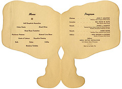 Jackson-Jefferson Day Dinner, Menu, Reading, Pa., March 1, 1952 (Inside)