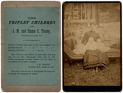The Triplet Children of J. M. and Emma C. Tracey