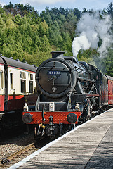 44871 At Glaisdale Station