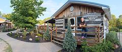 Dusk at Fur Peace Ranch