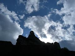 Burg aus dem Mittelalter