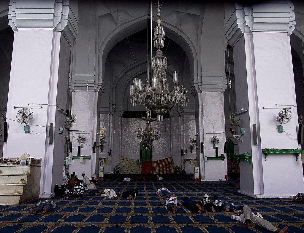 Resting during Ramazan