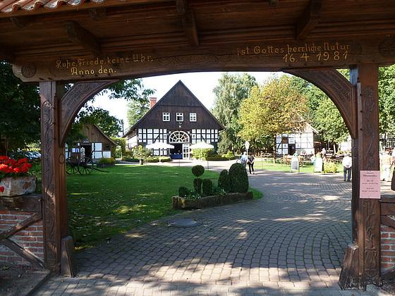 'Das gastliche Dorf' bei Delbrück in Westfalen - la gastama vilaĝo