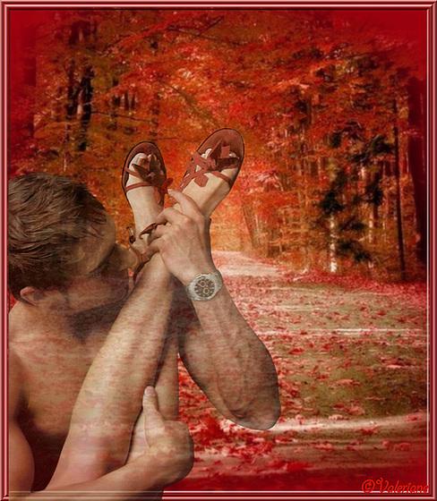 Valériane / Pieds d'automne / Autumn feet .