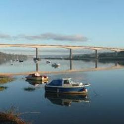 The new bridge at Bideford