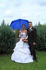 """der """"Blaue Schirm"""" als Trauzeuge"""