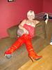 Lady Caliente / Woman in red - La Dame en rouge