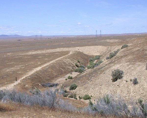 Carrizo Plain National Monument: San Andreas Fault 1101