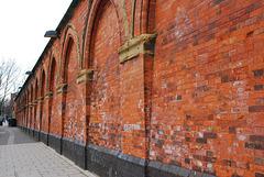 Wall, Ossulston St